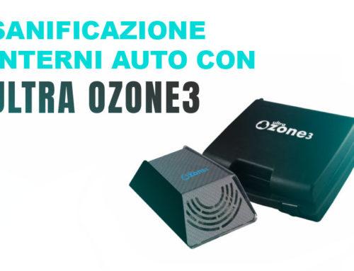 Sanificazione interni auto con ozono